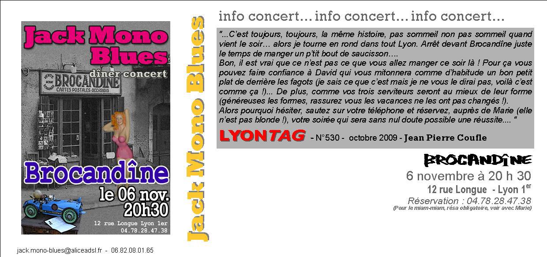 BROCANDINE INVIT novembre 2009