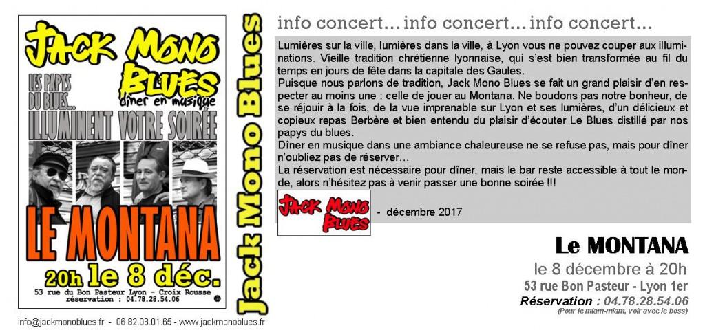 LE MONTANA invitation DECEMBRE 2017