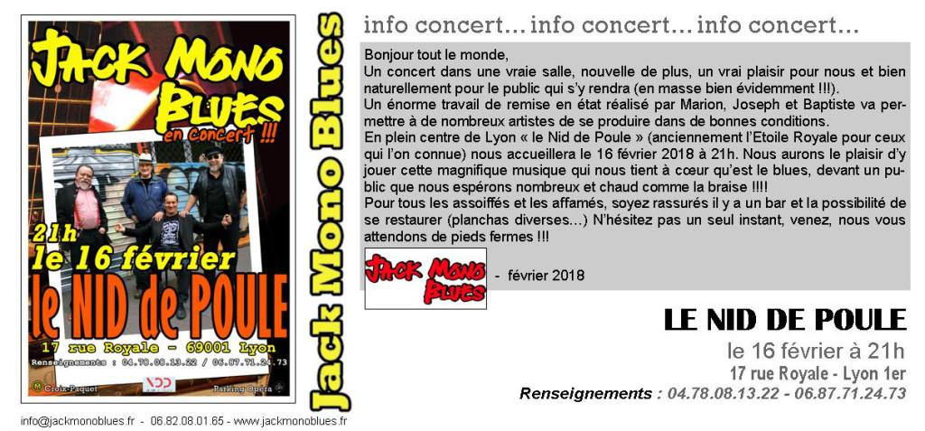 NID DE POULE INVITATION FEVRIER 2018
