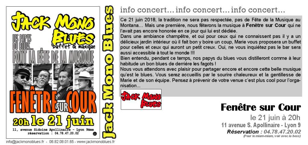 FSC Fête de la Musique 2018 - invitation