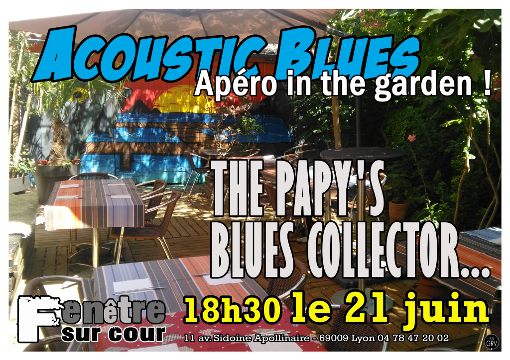 PAPYS BLUES COLLECTOR 21 JUIN 2018 bordé