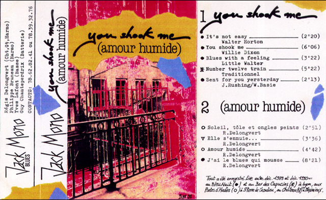 3 YOU SHOOK ME [AMOUR HUMIDE]