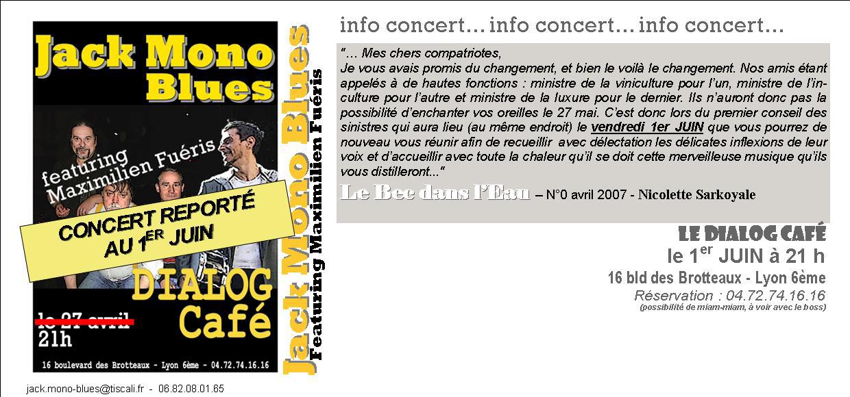 DIALOG CAFE invitation juin 07